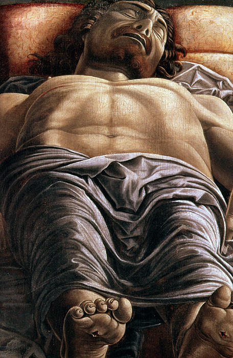 The Dead Christ Print by Andrea Mantegna