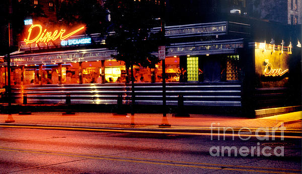 The Diner On Sycamore Print by Gary Gingrich Galleries