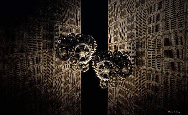 The Door Of The Time Print by Ramon Martinez