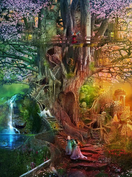 The Dreaming Tree Print by Aimee Stewart