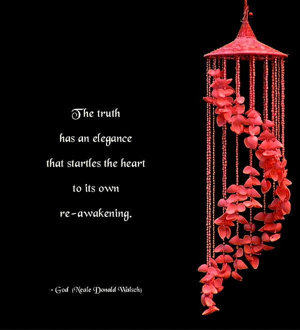 The Elegance Of Truth Print by Mike Flynn