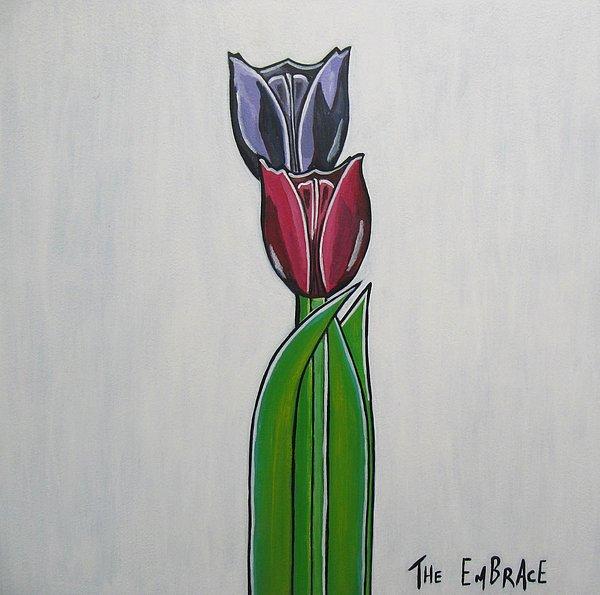 The Embrace Print by Sandra Marie Adams