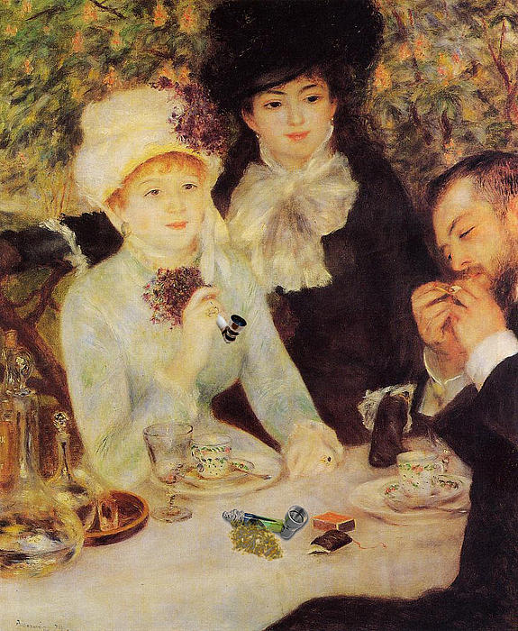 Pierre-Auguste Renoir  - The End of Lunch