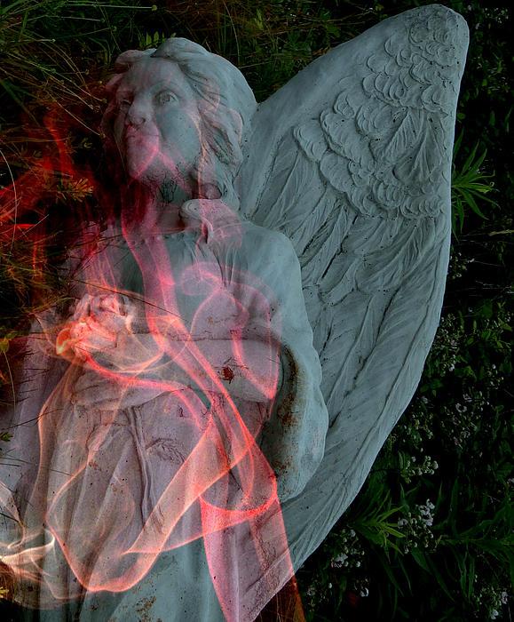 The Fallen Angel Print by Irma BACKELANT GALLERIES