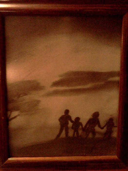 The Family  Walk Print by Renee McKnight