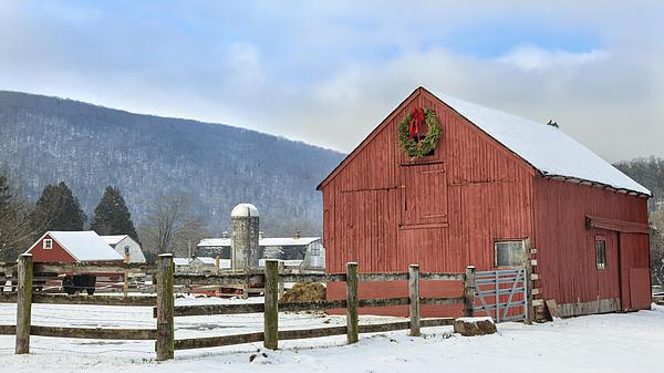 The Farm Print by Bill  Wakeley