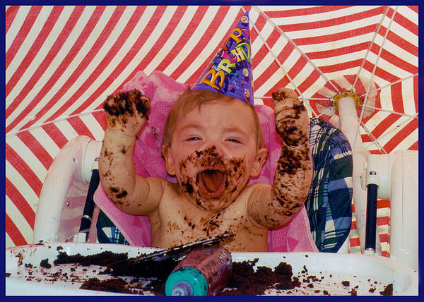 The First Birthday Cake by Ron Haist