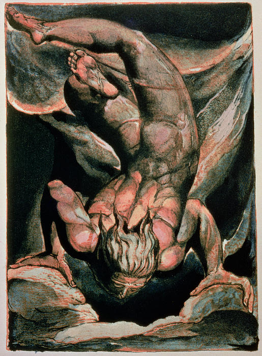 The First Book Of Urizen Print by William Blake