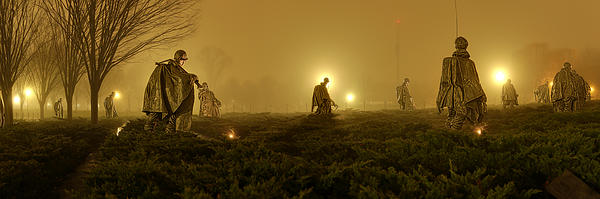The Fog Of War #1 Print by Metro DC Photography