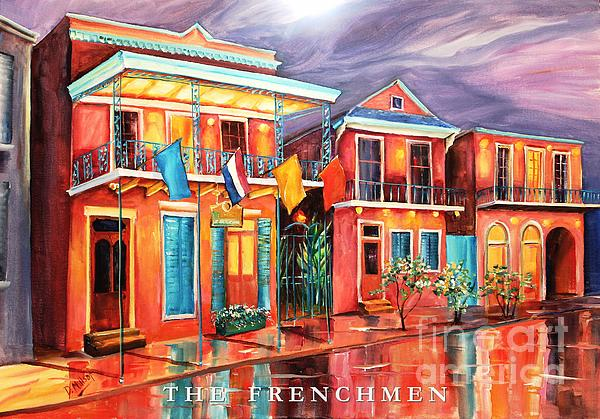 The Frenchmen Hotel New Orleans Print by Diane Millsap