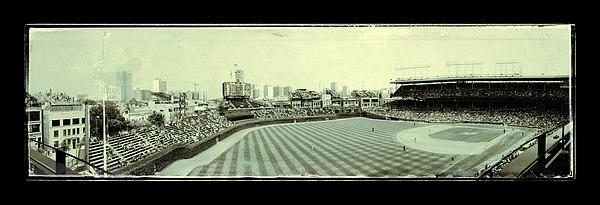 The Friendly Confines Print by Jame Hayes