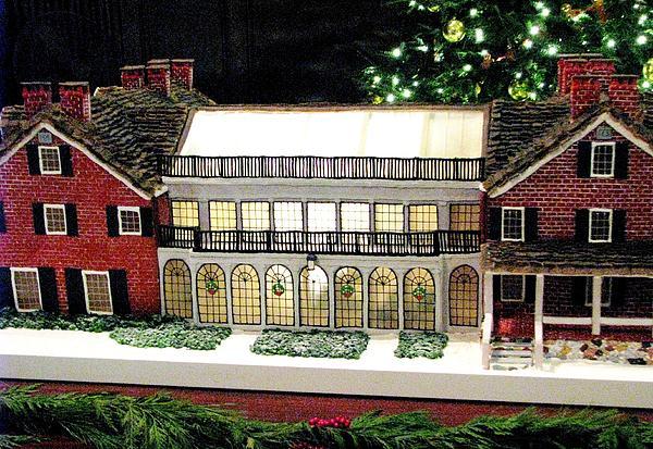 Angela Davies - The Gingerbread Mansion Atrium Longwood Gardens Pa