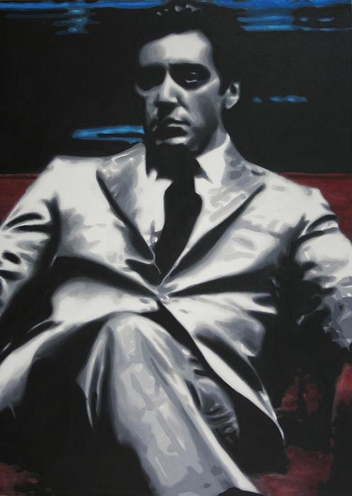 The Godfather 2013 Print by Luis Ludzska