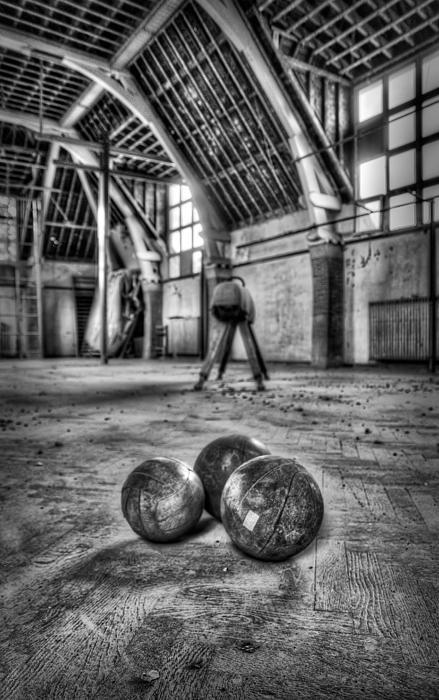 The Gym Print by Jason Green