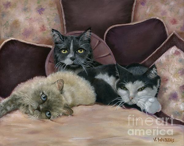 Vicky Watkins - The Harden Cats