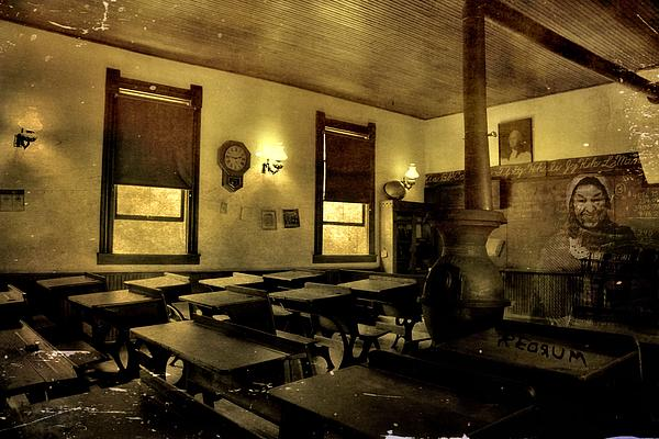 The Haunted Classroom Print by Dan Sproul