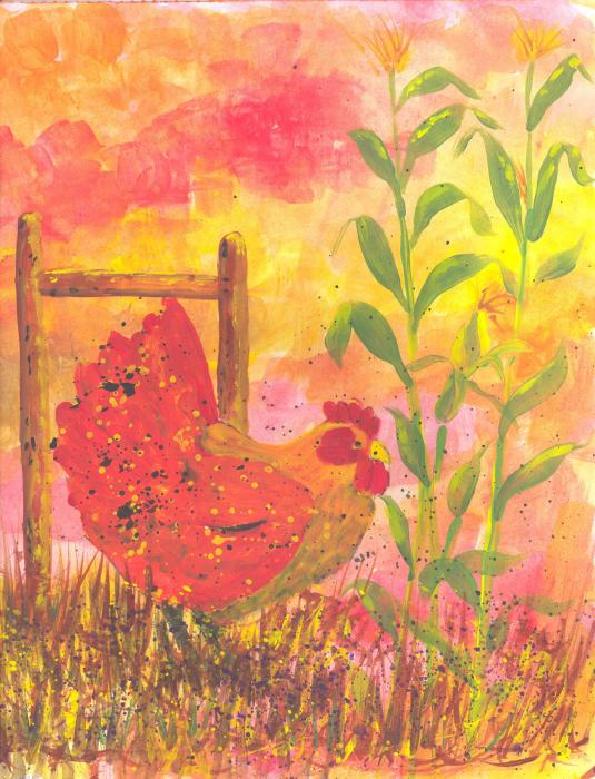 Suzanne Theis - The Hen