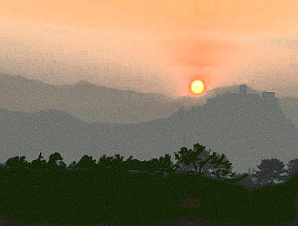 The Hills Of Aragon Print by Dennis Buckman