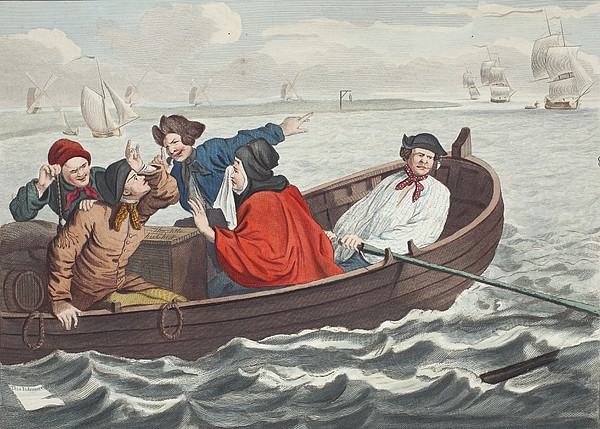 The Idle Prentice Turned Away And Sent Print by William Hogarth