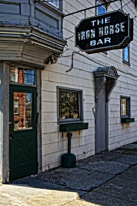 The Iron Horse Bar Print by Mike Martin