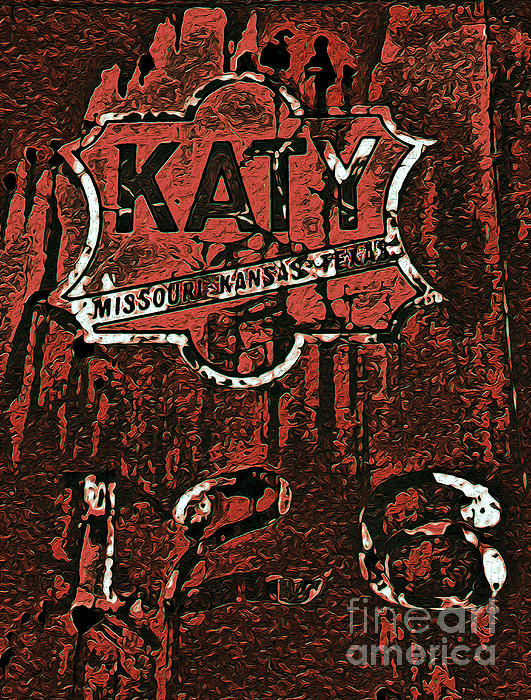 R McLellan - The K A T Y Railroad Sign