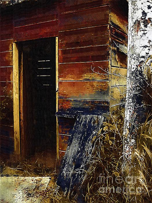 The Killing Shed Print by RC DeWinter