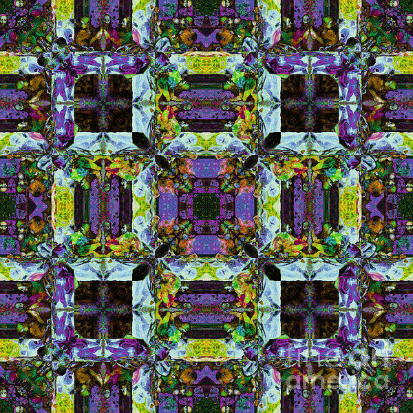 The Last Supper Abstract 20130130p40 Print by Wingsdomain Art and Photography