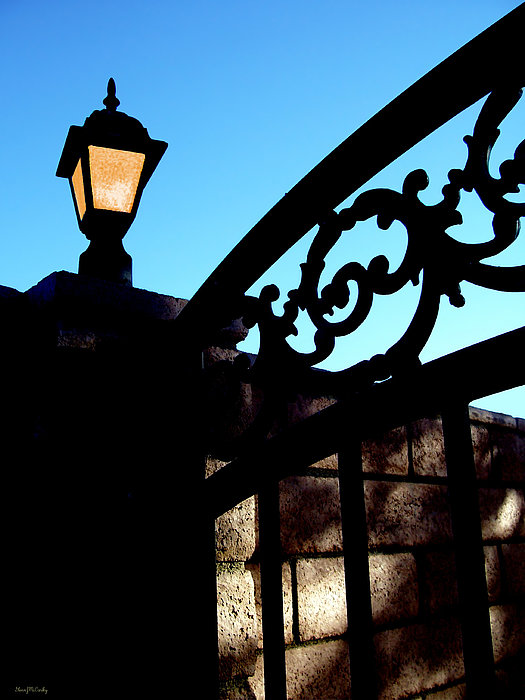 The Light And The Gate Print by Glenn McCarthy Art and Photography
