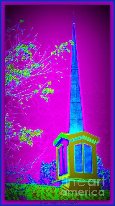 The Lights On Print by Bobbee Rickard