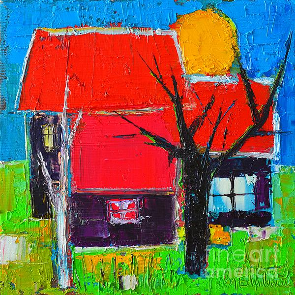 Ana Maria Edulescu - The Little Village With Three Houses Two Trees And One Sun