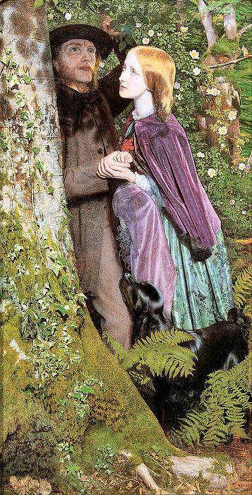 The Long Engagement Print by Arthur Hughes