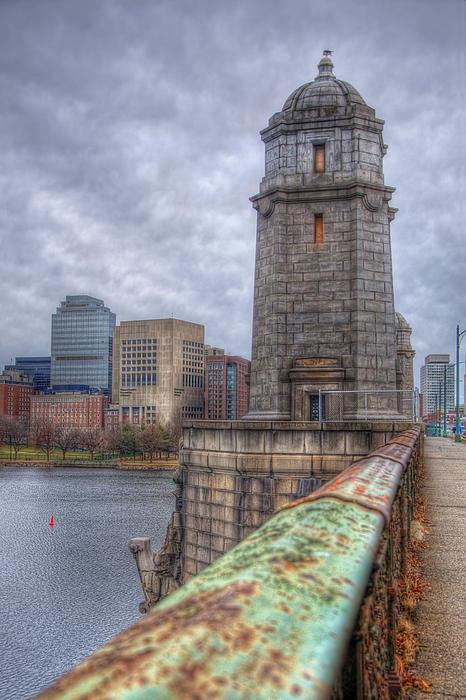 The Longfellow Bridge - Boston Print by Joann Vitali