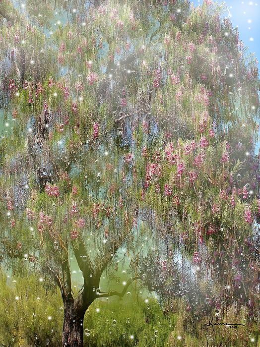 The Magic Tree 5 Print by Kume Bryant