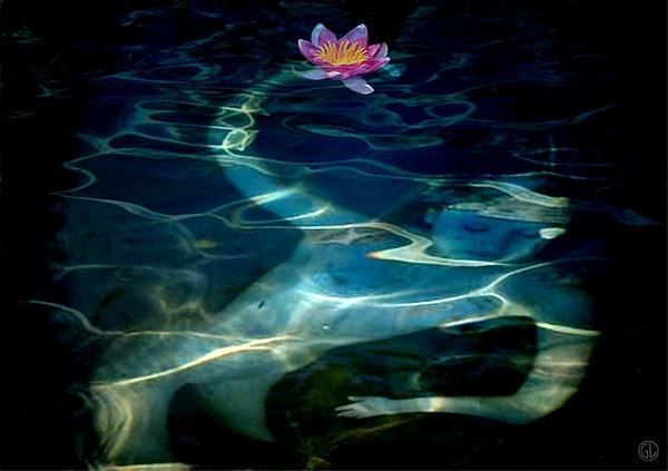 The Magical Pond Print by Gun Legler