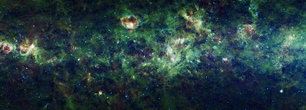 The Milky Way Print by Adam Romanowicz