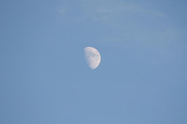 John Telfer - The Moon High Above The Atlantic Ocean