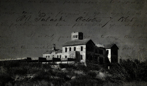 The Most Haunted House In Spain. Casa Encantada. Welcome To The Hell Print by Jenny Rainbow