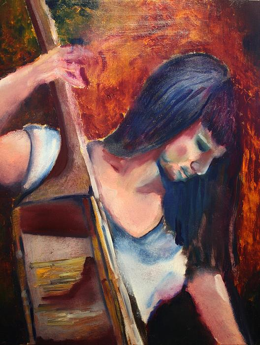 The Musician Print by Michael Kulick