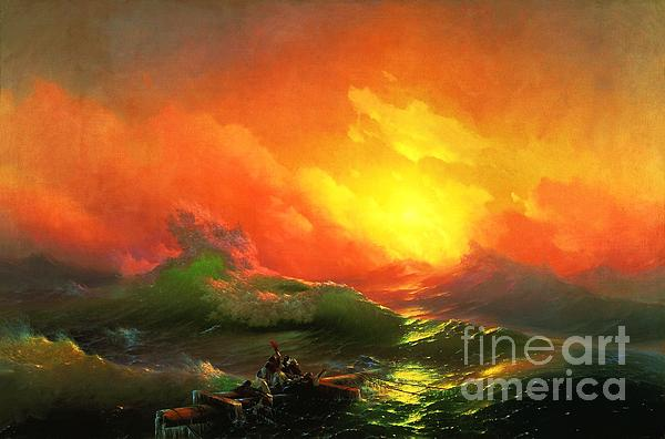 The Ninth Wave Print by Pg Reproductions