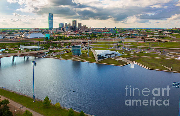 The Oklahoma River Print by Cooper Ross