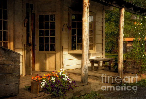 The Old General Store Print by Lois Bryan