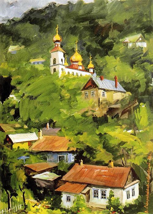 The Old Vladivostak Print by Jake Hartz
