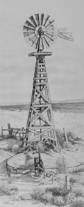Bern Miller - Lonely Windmill