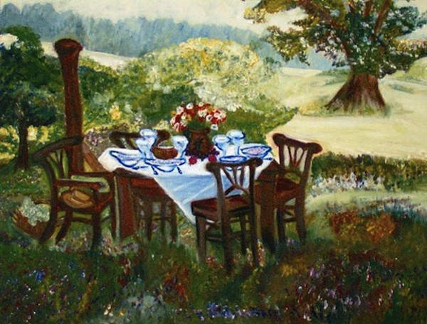 Helena Bebirian - The Outdoor Gathering