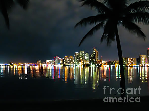 The Painted City Print by Rene Triay Photography