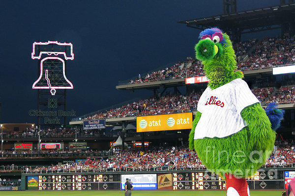 The Phanatic Print by Geoff Crego