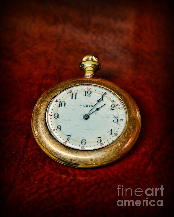 The Pocket Watch Print by Paul Ward