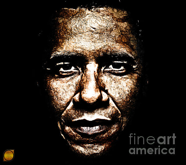 The President Print by The DigArtisT