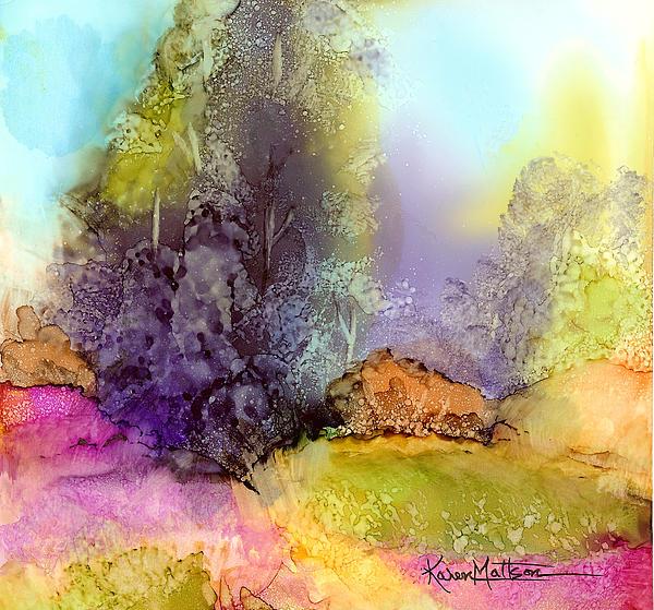 Karen Mattson - The Purple Tree
