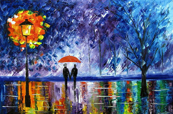 The Rain Print by Mariana Stauffer